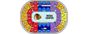 Portland Memorial Coliseum Detailed Seating Chart Arenas Parking Portland Winterhawks