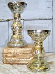mercuried glass candlesticks vintage silver mercury glass candle holders by mercury glass votive holders whole