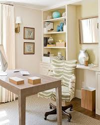 elegant home office. Office \u0026 Workspace. Elegant Home Designs Feature White Rack Wood Material And Table