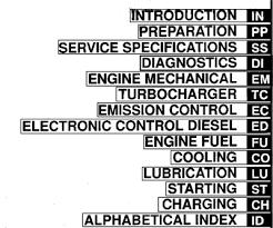 Toyota 1KZ-TE Diesel engine repair workshop manual NEW - workshop ...