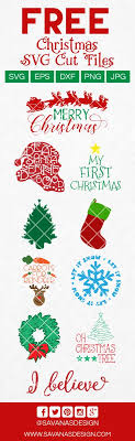 Find & download free graphic resources for christmas svg. Free Christmas Svg Files Svg Eps Png Dxf Cut Files For Cricut And Silhouette Cameo By Savanasdesign