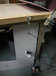 hot wire foam sheet cutting flite test i built a switched outlet to sit on the floor so i can activate and deactivate the hot wire cutter my foot while holding the foam my hands