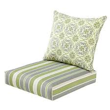 outdoor deep seat cushions green grey damask striped deep seat cushion set deep seat cushions for outdoor furniture canada