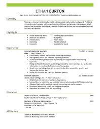 Social Media Marketing Resume Sample Free Resume Templates