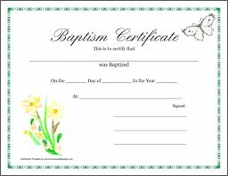 Sample Baptism Certificate Template Mesmerizing Stunning Free Editable Baptism Certificate Template Sample To Make