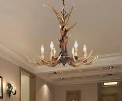 image of antler ceiling light images