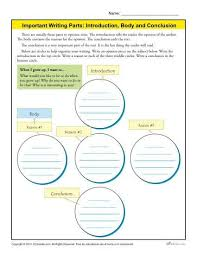 introduction body and conclusion worksheet for rd grade  introduction body and conclusion worksheet for 3rd grade
