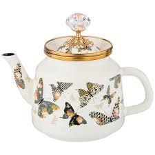 <b>Агнесс</b> Бабочки <b>чайник заварочный</b> эмалированный 1 л