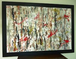 acrylic paint abstract art lessons
