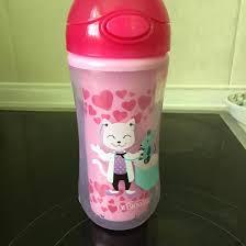 dr browns чашка термос розовая панда с носиком от 12 месяцев 300 мл