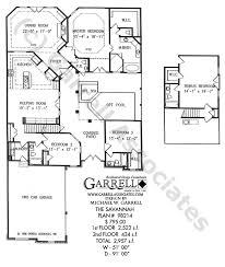 savannah house plan 98214 1st floor plan