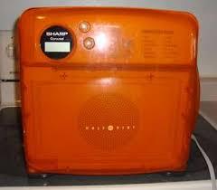 sharp half pint microwave oven.