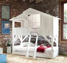 Cool Beds For Kids Cool White Full Over Bunk Beds Kids Bedroom Bed
