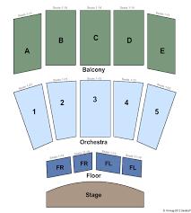 Carl Perkins Civic Center Seating Chart