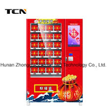 Cheapest Vending Machines Custom China Tcn New Design Cheapest Automatic Lucky Bag Vending Machine
