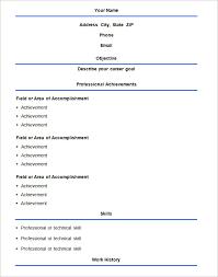 Simple Easy Resume Easy Resume Format Download Earpod Co
