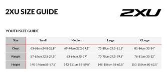 2xu Tri Shorts Size Chart Size Guide Upgrade