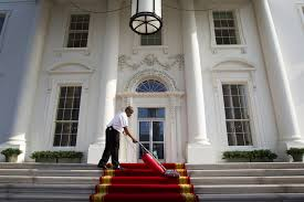 the porch to the seat of power