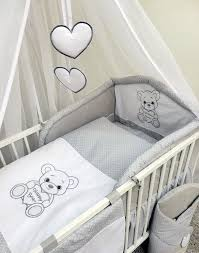 baby nursery 3 piece bedding set fits cot 120 cm cot bed 140 cm happy 1 of 1free