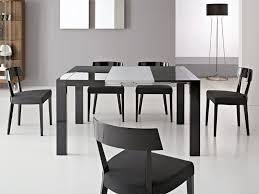 image of modern extendable dining table plan