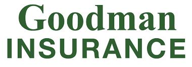 goodman logo. goodman insurance logo