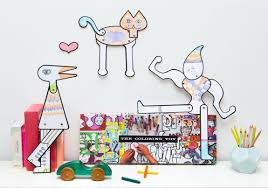 Toys Designed By Artists The Coloring Toy Charles Ray Eames