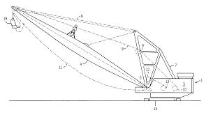 patent us dragline excavating machine direct patent drawing