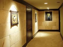 lighting a hallway. Awesome Vintage Style Hallway Lighting With Drop Ceiling Lamps Also Artwork Wall Decors And Black Door Polished Interior Views A D