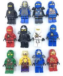 8 X Ninja Ninjago Jay Cole Kai Zane Nya Garmadon Minifigures Building Toys  Lego for sale online