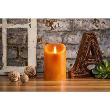 Candles - Country Yam Pillar - Unscented - 5