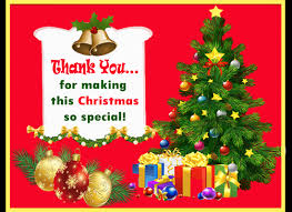 Christmas Special Thank You Free Thank You Ecards