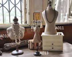 Vintage Jewelry Display Stands Mannequin Jewelry Display Vintage Styled Jewelry Stand Tabletop 1