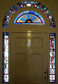 stained glass front door surrounds