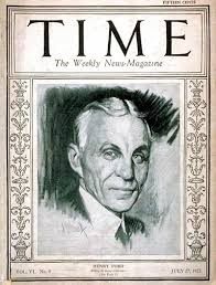 TIME Magazine Cover: Henry Ford - July 27, 1925 - Henry Ford - Cars -  Automotive Industry - Transportation - Business - Ford Motor Co.