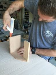 Glue and nail and repeat for the other end. Beer Tote How To Decorate A Crate Home Diy On Cut Out Keep