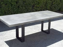 Concrete Top Dining Tables Coffee Table Concrete Dining Table Idea Concrete Dining Table