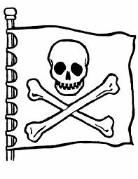 Kleurennu Enge Piratenvlag Kleurplaten