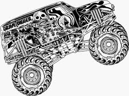 Monster Truck Kleurplaat Model Kleurplaten Monster Trucks Archidev