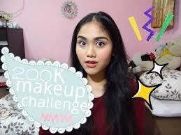 delaniamarvella you 200k makeup challenge all indonesian s 2016 08 18 100k