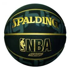 <b>Мяч</b> баскетбольный <b>Spalding NBA</b> Highlight Black, размер 7 ...