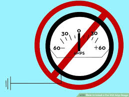 how to install a car volt amp gauge pictures wikihow image titled install a car volt amp gauge step 9