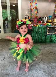 hawaiian costume diy elegant birthday luau outfit baby girl 1st birthday outfit children s