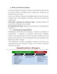 Organizational Design For Knowledge Management Change Management And Organizational Development Docsity
