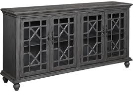 accent console cabinet. Modren Console Swansboro Gray Accent Console 59999 715W X 1775D 385H Find  Affordable Cabinets For Your Home That Will Complement The Rest Of  Intended Console Cabinet H