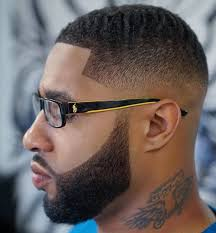Black Design Haircuts Hair Cuts Pics For Black Men With Design 20 Fade And Tapered