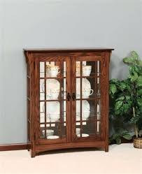 small curio cabinet with glass doors small curio cabinets with glass doors mission curio cabinet with