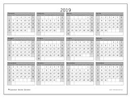 Calendari Annuali 2019 Ds Michel Zbinden It