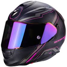 Scorpion Exo 510 Air Sync Matt Black Pink Fluo Helmet