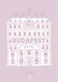 mini st posters of wes anderson houses grand budapest hotel  the grand budapest hotel
