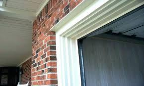 garage door side seals garage door side weather seals garage door side seal garage door molding